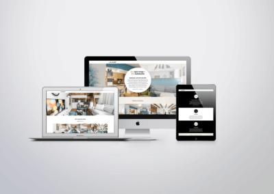 Webové portfólio bytových designéru
