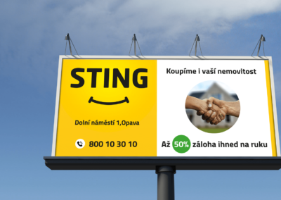 Billboard Sting Opava